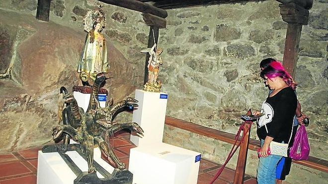 Más de 10.000 personas han visitado la exposición 'El mal vencido' en La Alberca