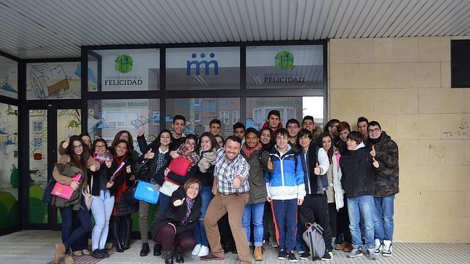 Los alumnos de IES Ribera de Castilla visitan M-M Coaching Business School