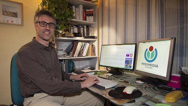 «Wikipedia no tiene culpa del copia y pega, sino quien lo permite»