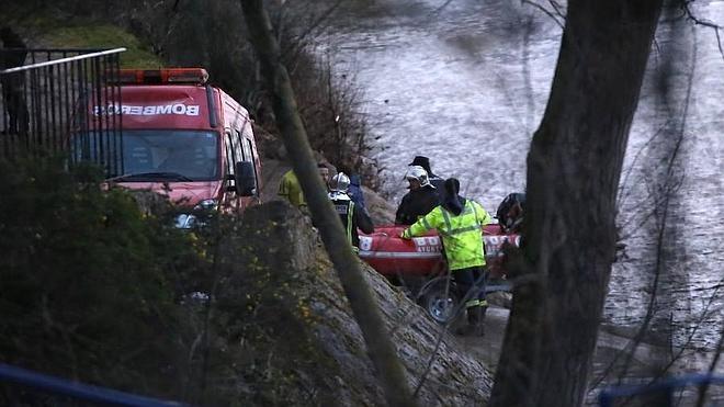 Encuentran un cadáver en el Pisuerga, frente a la desembocadura del Esgueva