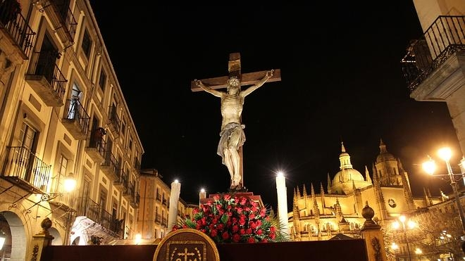 La Procesión de los Pasos, emblema de la Semana Santa segoviana
