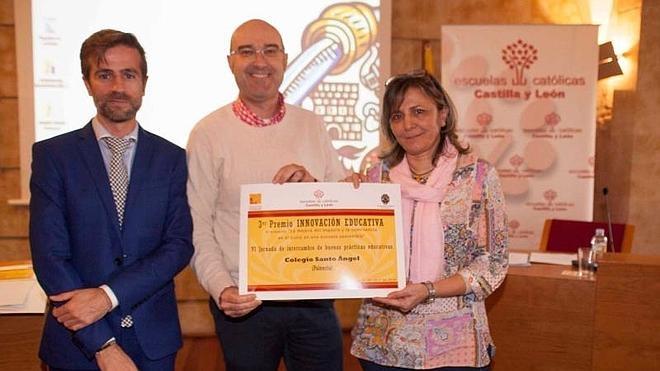 El Santo Ángel de Palencia, tercer premio de buenas prácticas docentes de escuelas católicas