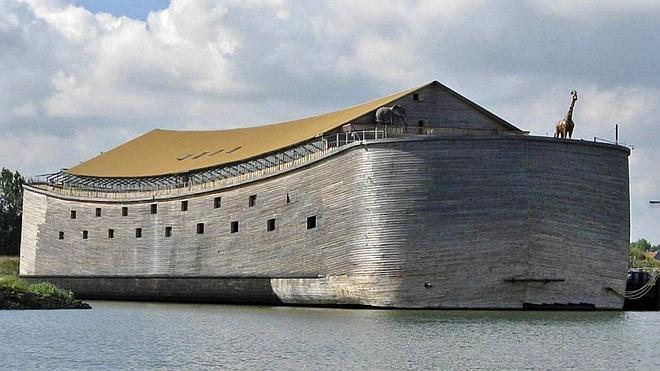 Un holandés reconstruye el arca de Noé