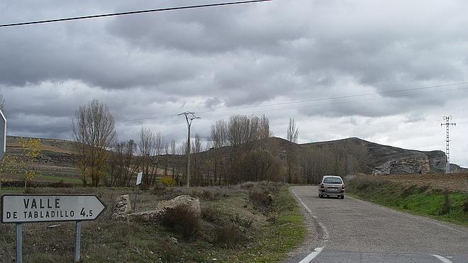 El único acceso a Valle de Tabladillo será mejorado 26 años después de la última reforma