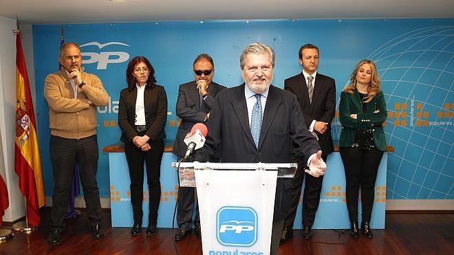 El ministro Méndez de Vigo volverá a encabezar la lista del PP por Palencia