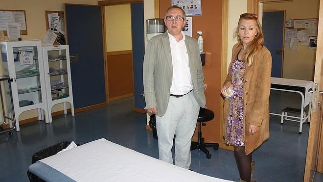 El centro de salud de Riaza da cobertura a unos cinco mil habitantes de la comarca