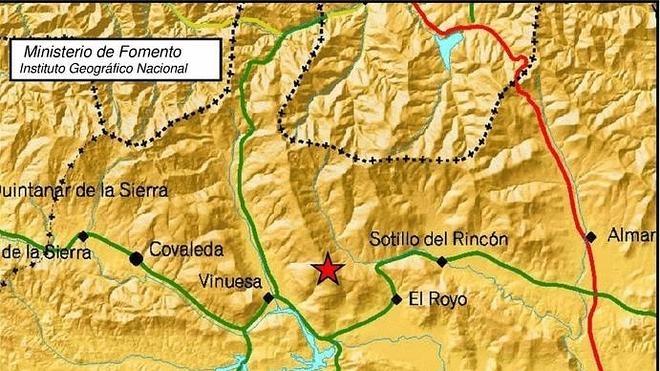 Acontece un ligero terremoto entre El Royo y Vinuesa