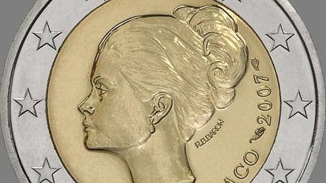 Grace Kelly consigue que una moneda de 2 euros valga 600