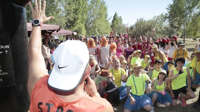 Diversión disfrazada de atletismo en Palencia