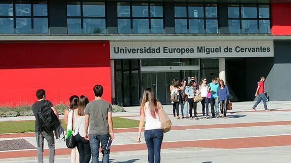 Resultado de imagen de Universidad Europea Miguel de Cervantes