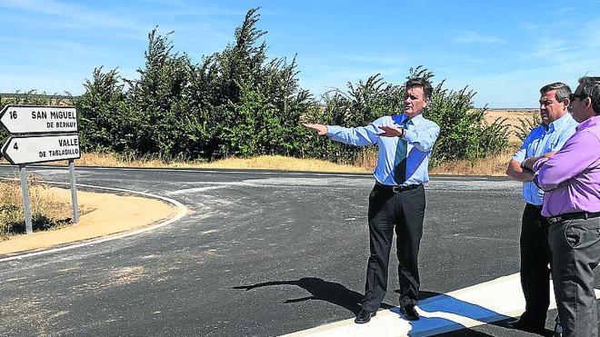 La Diputación concluye el arreglo de la carretera de Valle de Tabladillo