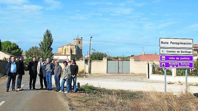 Adjudicadas en 360.000 euros las obras en la carretera de Frómista al límite con Burgos