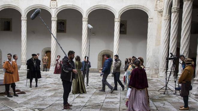 Carlos V vuelve a Valladolid