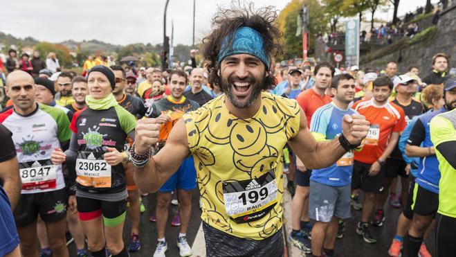 Raúl Gómez: «Las sonrisas que recibo cuando corro son como un gel energético»
