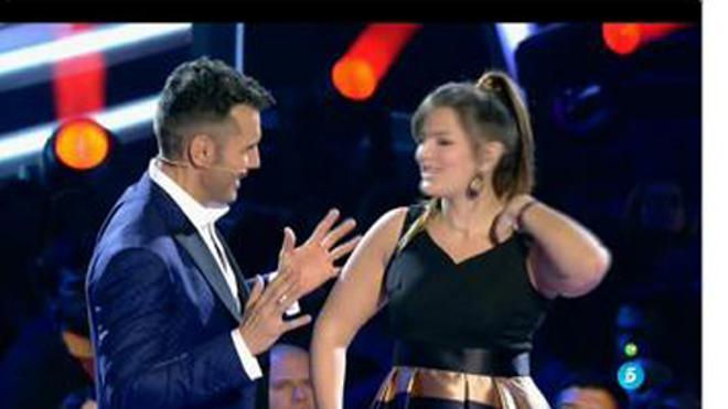 Una concursante de 'La Voz', totalmente desorientada al acabar su actuación