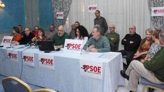 Militantes del PSOE de Palencia constituyen una plataforma para exigir primarias y congreso