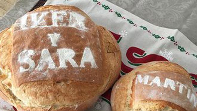 Sara Carbonero desea feliz Navidad con 'mucho pan'