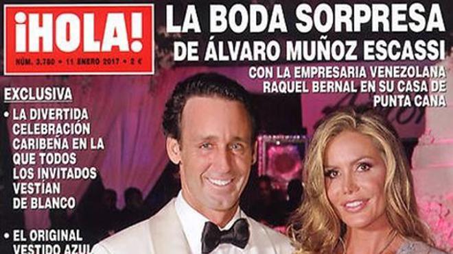 Álvaro Muñoz Escassi abandona la soltería