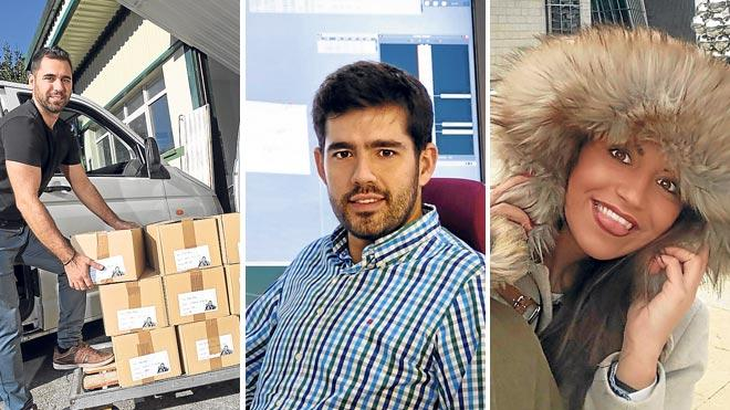 Tres jóvenes 'sisis' que demuestran que trabajar y estudiar es posible