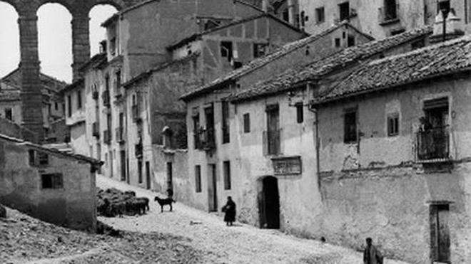 Las fotos de Otto Wunderlich muestran el encuadre alemán para Segovia
