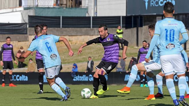 El Deportivo Palencia se desinfla en el último suspiro ante el Celta B