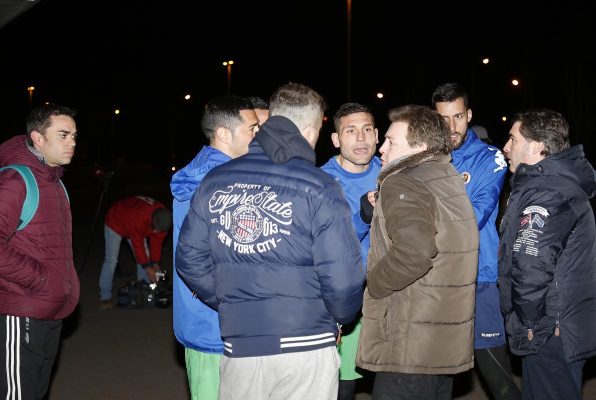 Dimite en bloque la junta gestora del Deportivo Palencia