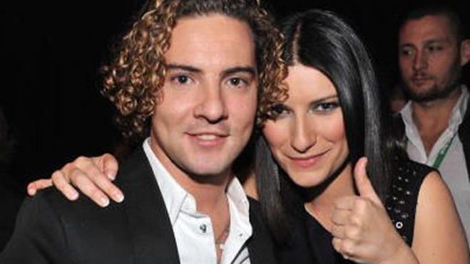 Laura Pausini y David Bisbal, más cerca de 'La Voz'