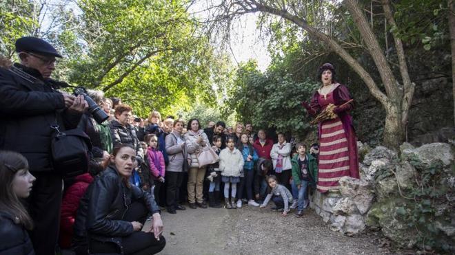 La visita teatralizada al Campo Grande, un éxito de público