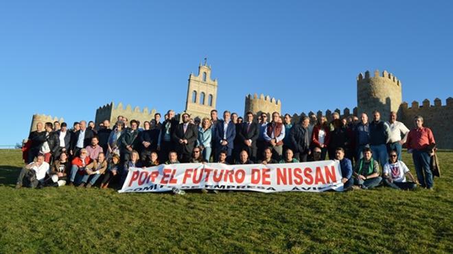 La plataforma social en apoyo a Nissan une a las principales autoridades e instituciones de Ávila