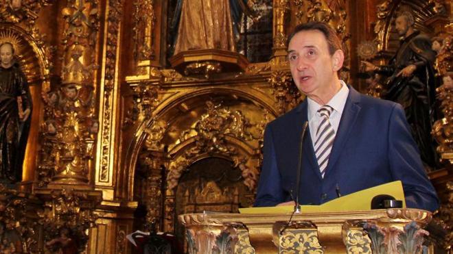 Julián García Torrellas pregona una historia de espiritualidad centenaria en Palencia
