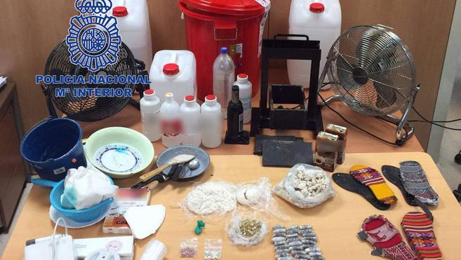 La Policía de Segovia participa en un importante al golpe al tráfico internacional de cocaína