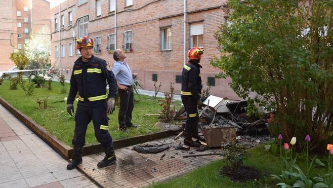 Atendidas tres personas por inhalación de humo en el incendio de una vivienda en Guardo