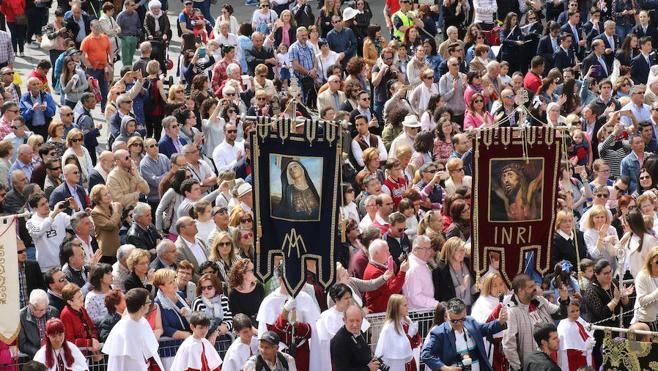 El Encuentro pone el broche a la primera Semana Santa de interés turístico nacional en Segovia