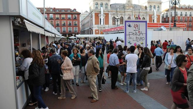 Programación de la 50ª Feria del Libro de Valladolid