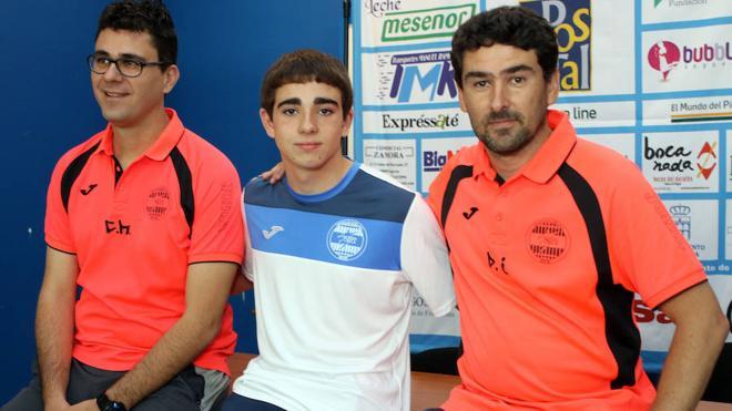 El segoviano Ángel Encinas jugará en Movistar Inter
