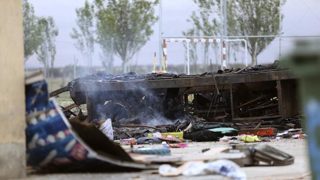 Familiares del muerto en la explosión de la caravana le identifican como un hombre de 37 años