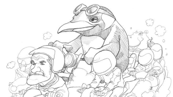 Los ancestros de Pingüinos