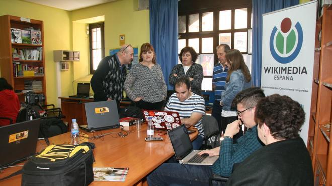 Un 'wikimaratón' sobre Las Edades