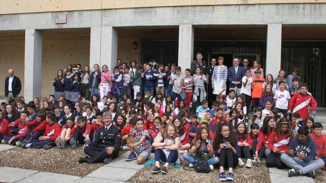 La Policía Nacional forma a los 150 primeros Ciberexpertos de colegios de Primaria de Segovia